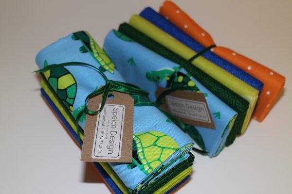 stofpakke skildpadde