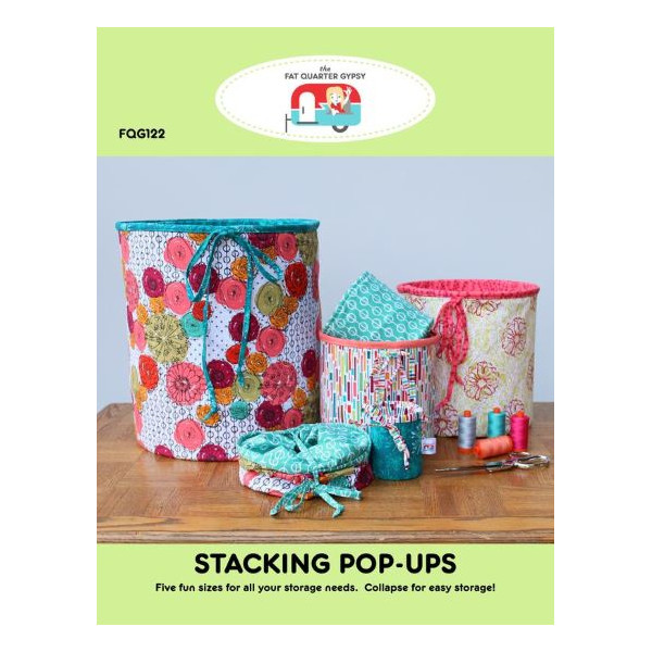 Fat Quarter Gypsy Stacking Pop-Ups