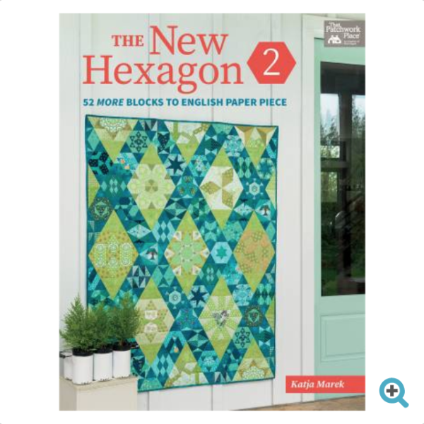 Katja Marek New Hexagon 2 Book Bok Patchwork