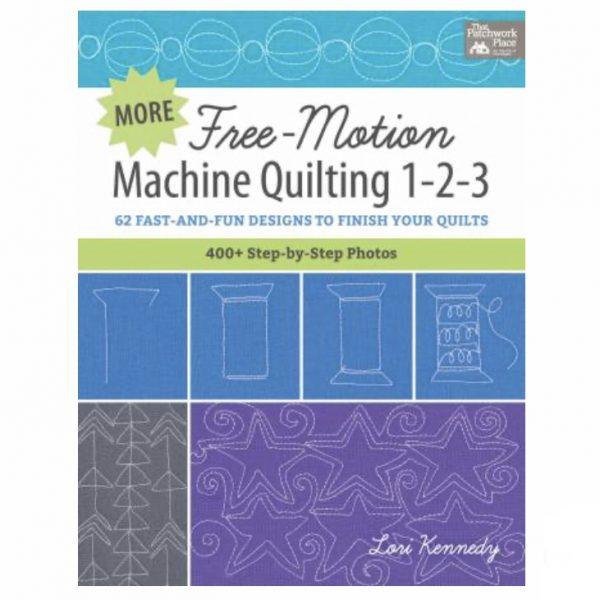 Free Motion Machine Quilting Lori Kennedy Book Bog Patchwork