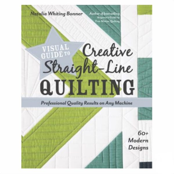 Creative Straight Line Quilting Book Bog Patchwork Natalia Bonner