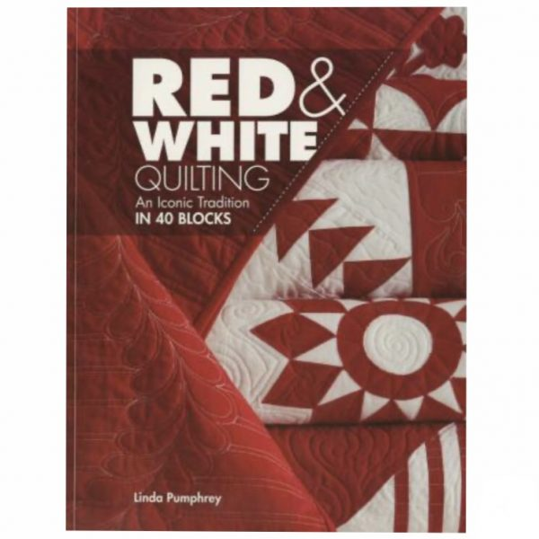 Red and White Quilts Linda Pumphrey Patchwork Book Bog
