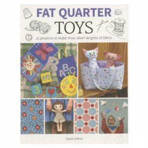 Fat Quarter Toys Patchwork Legetøj Bog