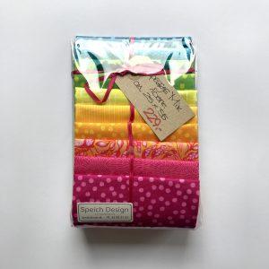 Speich Design Patchwork Bomuld Papegøje Mix Stofpakke Multifarvet