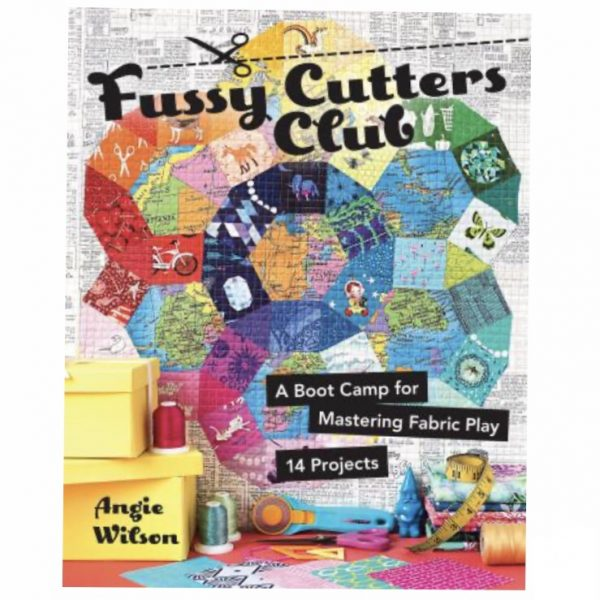 Angie Wilson Fussy Cutters Club Patchwork Quilt Bog