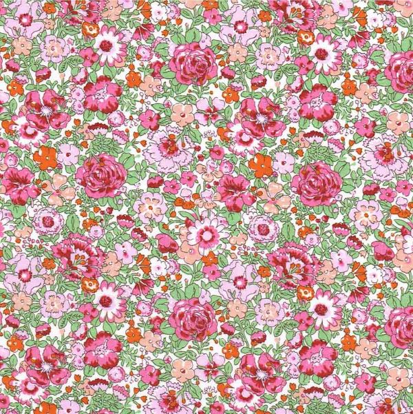 Liberty Stof Tana Lawn Amelie Pink