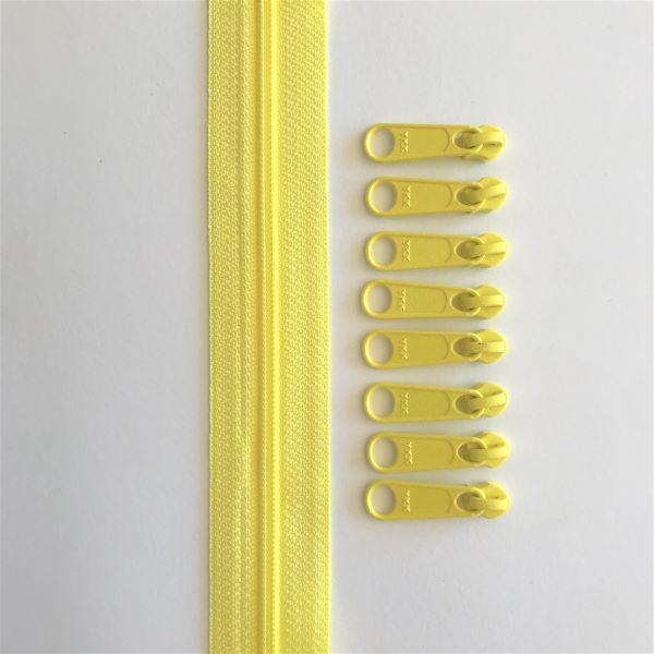 Zipper Tape Lynlås Pam Damour Lemon