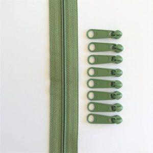 Zipper Tape Lynlås Pam Damour Salvie