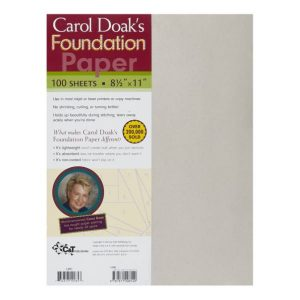Carol Doaks Foundation Paper
