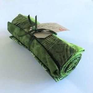 Bali Batik Stofbundt Grøn