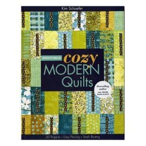 Cozy Modern Quilts Kim Schaefer Patchwork Bog Book 1