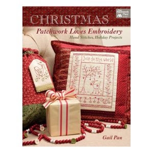 Robin Kingley Christmas patchwork Loves Embroidery