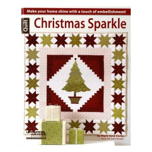 Mary JAne Carey Christmas Sparkle Patchwork Bog