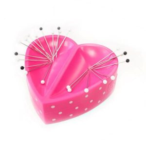 Prym magnetskål til nåle lyserødt hjerte 2