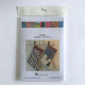 Julesok vejledning patchwork Design by Anne