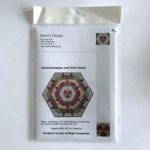 Juletræstæppe med kite lineal Patchwork Mønster