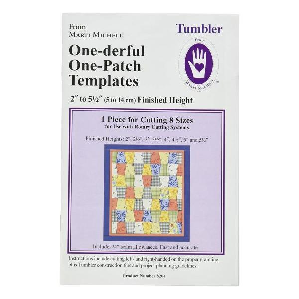 one-derful template tumbler Marti Michell