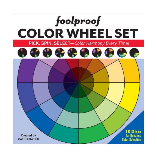 Foolproof color wheel set Farvehjul