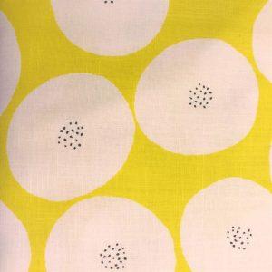 Kokka stof tekstil gul