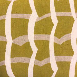 Kokka stof tekstil karrygul