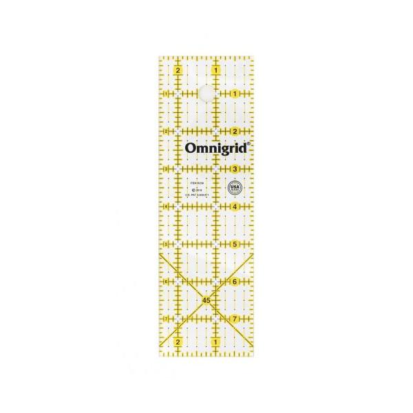 Omnigrid 2 en halv til 8 Patchwork lineal