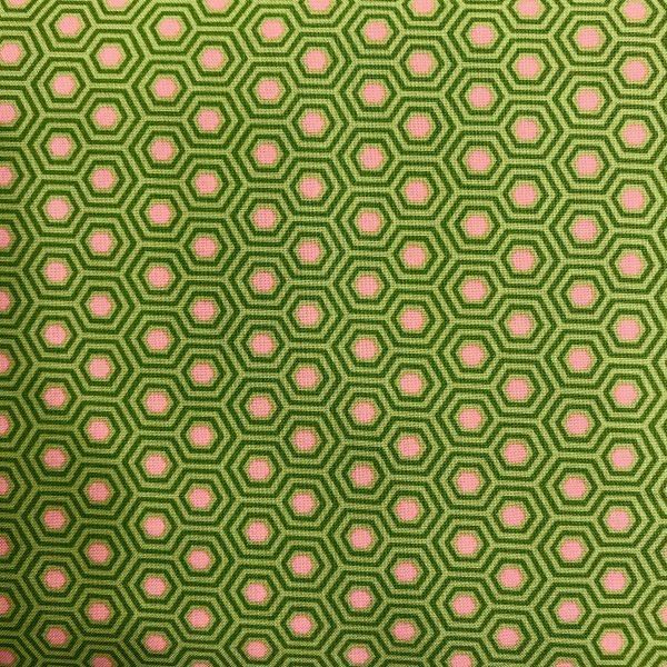 Tula Pink stof tekstil patchwork grøn