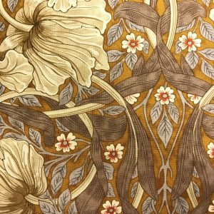 William Morris tekstil stof patchwork