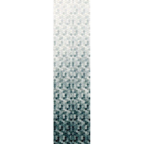 Backsplash Pewter grå Hoffman patchwork stof
