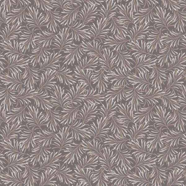Bernatex Boughs of Beauty mørkegrå bagsidestof patchwork c9961w-11