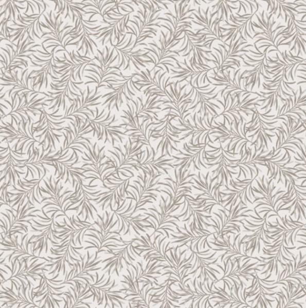 Bernatex Boughs of Beauty hvid lysegrå bagsidestof patchwork c9961w-13