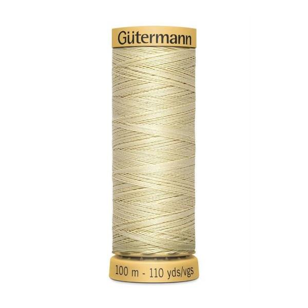 004 Gütermann sytråd 100 m bomuld 828 creme