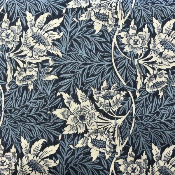Patchworkstof bomuld William Morris 12