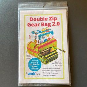 BA Double zip gear bag