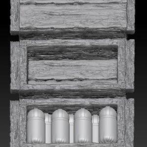 3x Ammunition Boxes – Large