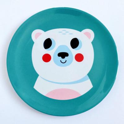 OMM Design bord ijsbeer