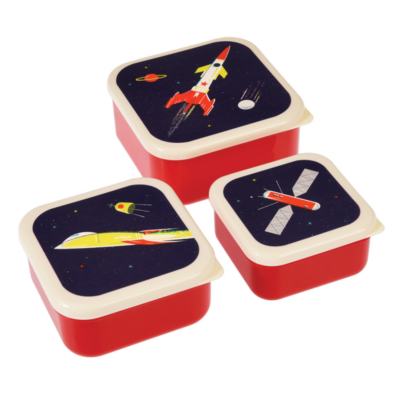 Rexlondon space / ruimtevaart snackboxes
