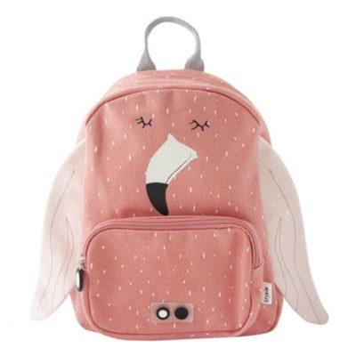 flamingo rugzak trixie baby roze