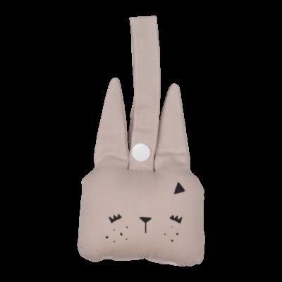 fabelab rammelaar bunny mauve / konijn
