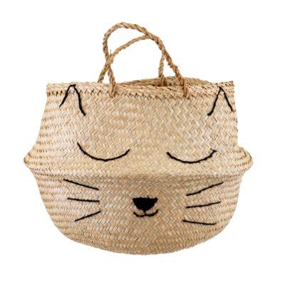sass & belle rieten mand cat's whiskers / kat
