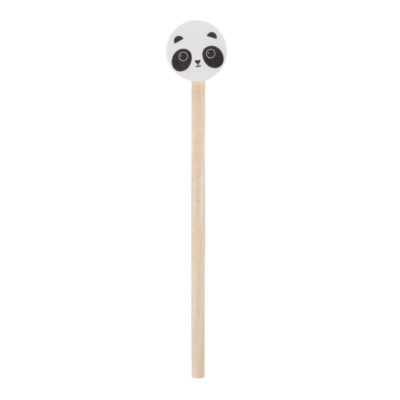 panda potlood met gum sass and belle