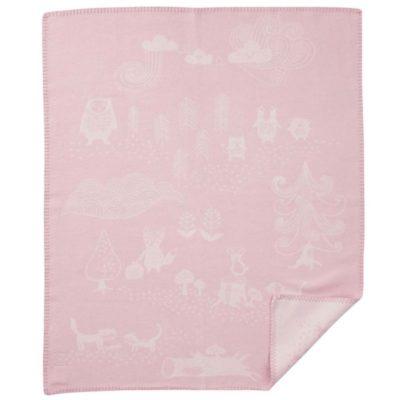 Klippan wiegdeken, babydeken little bear roze / pink