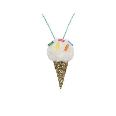 merimeri ketting icecream / ijs pompom