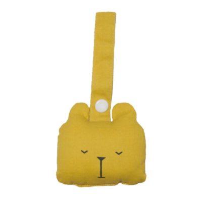 fabelab rammelaar beer geel / bear honey
