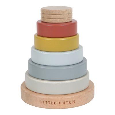little dutch houten stapeltoren pure and nature