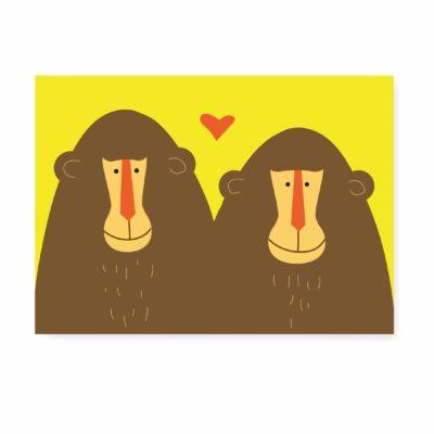 liefde zomaar kaartje ansichtkaart trouwkaart felicitatiekaart