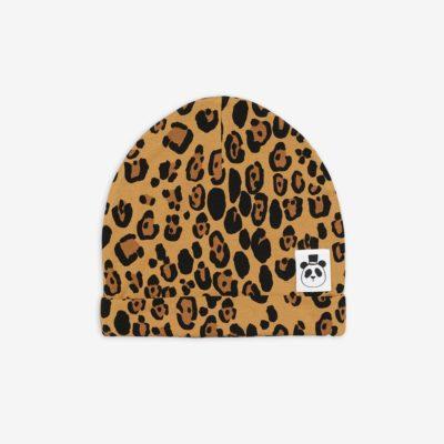mini rodini beanie leopard