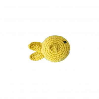 global affairs rammelaar gehaakt fish yellow