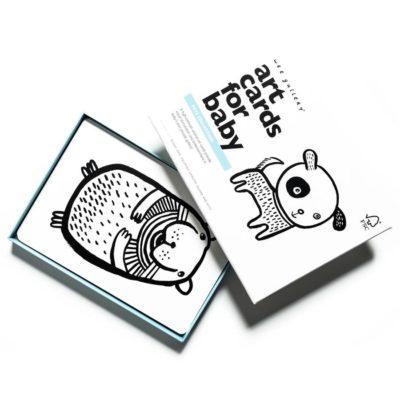 wee gallery - babykaarten / art cards pets huisdieren
