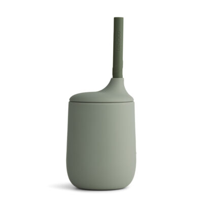 liewood ellis sippy cup Faune green/hunter green mix