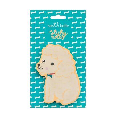 Sass & Belle sticky notes hond